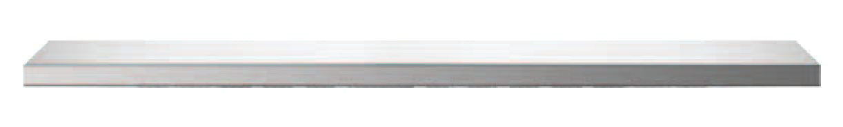 "Stainless Shower Shelf  : 42"" Wide  6"" Deep  1-1/4"" Tall"
