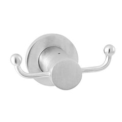 East Square Double Robe Hook