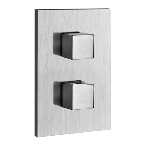 RETTANGOLO THERMOSTAT WITH SINGLE VOLUME CONTROL TRIM