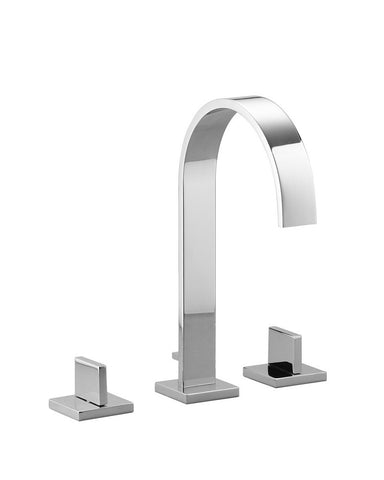Mem Three Hole Lav Faucet