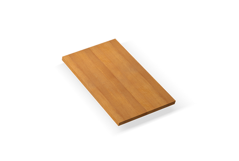 "Cutting board for 18'' sink 11"" x 19.25"" x 1.5"""