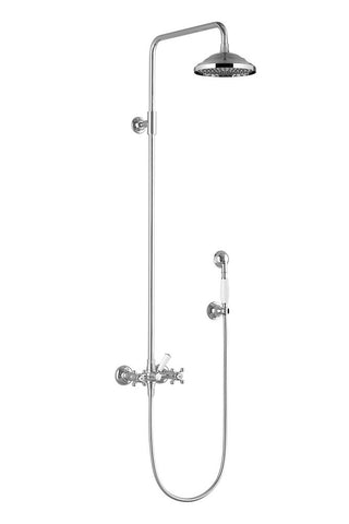 Madison Exposed Shower Set with head and hand held