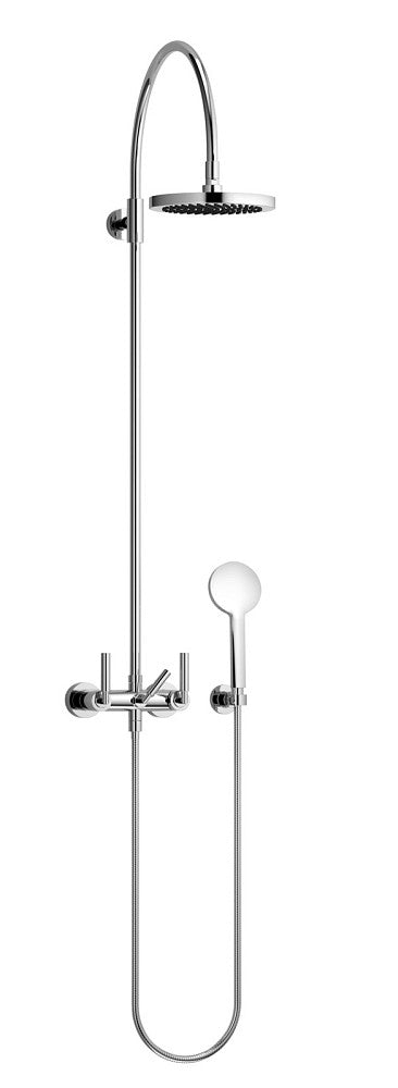 Wonderful Exposed Shower Set With Head And Hand Held