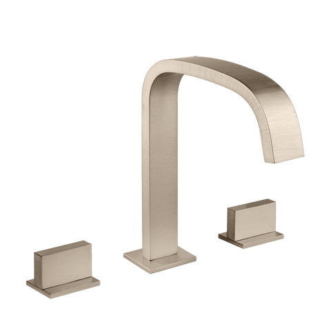 RETTANGOLO DECK-MOUNTED WASHBASIN SPOUT ONLY WITH POP-UP ASSEMBLY