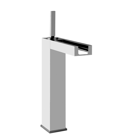 RETTANGOLO TALL SINGLE LEVER WASHBASIN MIXER WITH POP-UP ASSEMBLY
