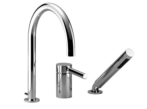 Tara.Logic Tub Filler With Baton - 3 Hole