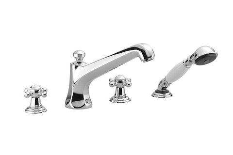 Madison Tub Filler with Handshower - 4 Hole