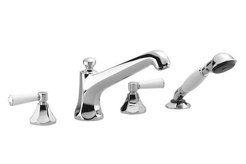 Madison Flair Tub Filler with Handshower - 4 Hole
