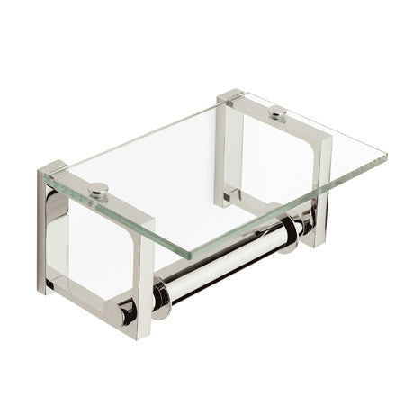 FRAME Double Post Toilet Tissue Holder with Cover