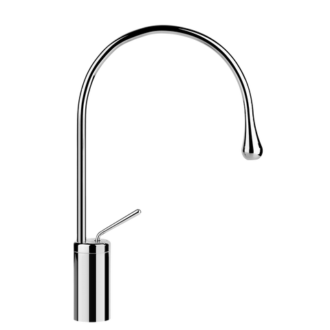 GOCCIA TALL SINGLE LEVER WASHBASIN MIXER WITHOUT POP-UP ASSEMBLY