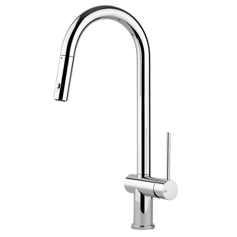 OXYGENE KITCHEN MIXER WITH PULL-OUT DOUBLE SPRAY