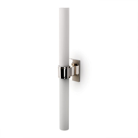 Opus Wall Mounted Double Sconce with Glass Shades