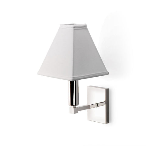 Duplex Wall Mounted Single Arm Sconce