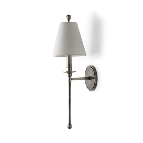 Newell Wall Mounted Single Arm Sconce with Shade