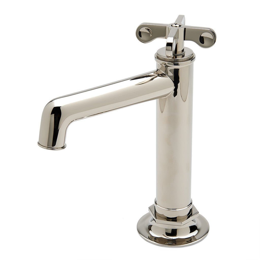 Henry One Hole High Profile Bar Faucet , Metal Cross Handle ...
