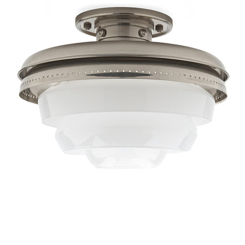 R.W. Atlas Ceiling Flush Mount with Glass Shades