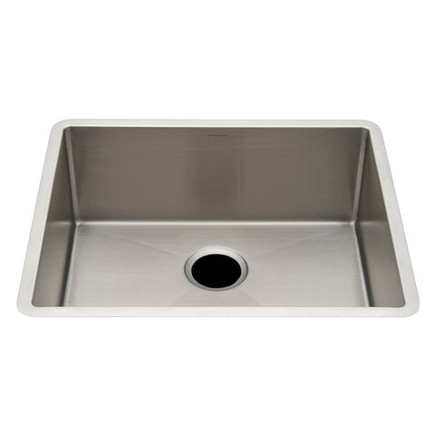 "Kerr 23 1/4"" x 19 3/4"" x 9"" Stainless Steel Kitchen Sink with Rear Drain"