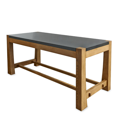 "Oskar 84"" x 36"" x 36"" Wood Worktable"