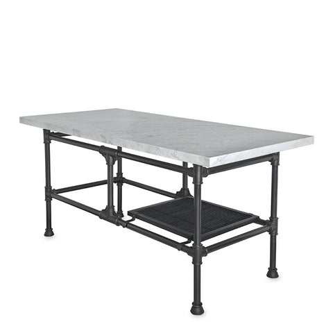 "Cuisinier 65 1/4"" x 29 3/8"" x 33 15/16"" Metal Worktable"