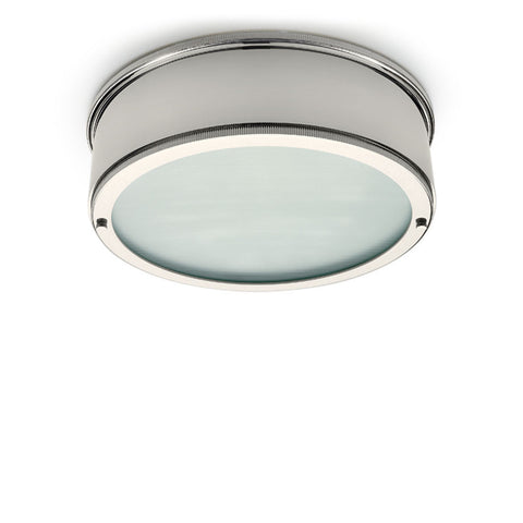 Sentinel II Ceiling Flush Mount with Glass Diffuser