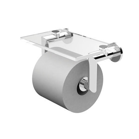 KUBIC Double Post Toilet Tissue Holder with Cover