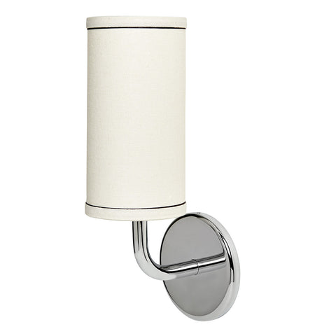 Flyte Wall Mounted Single Arm Sconce with Fabric Shade