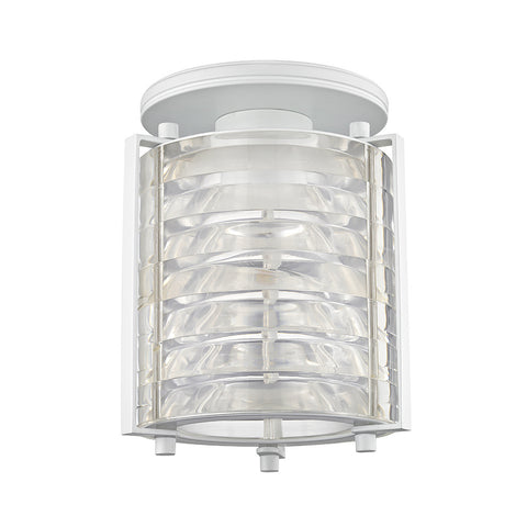 Signal Mini Flush Mount with Acrylic Shade