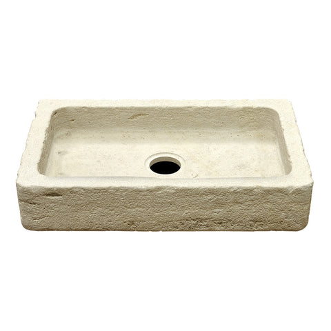 "Titan Stone Apron Farmhouse Kitchen Sink with Center Drain 30"" x 16"" x 6"""