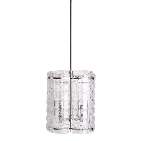 Torrey Ceiling Mounted Large Pendant with Glass Shade