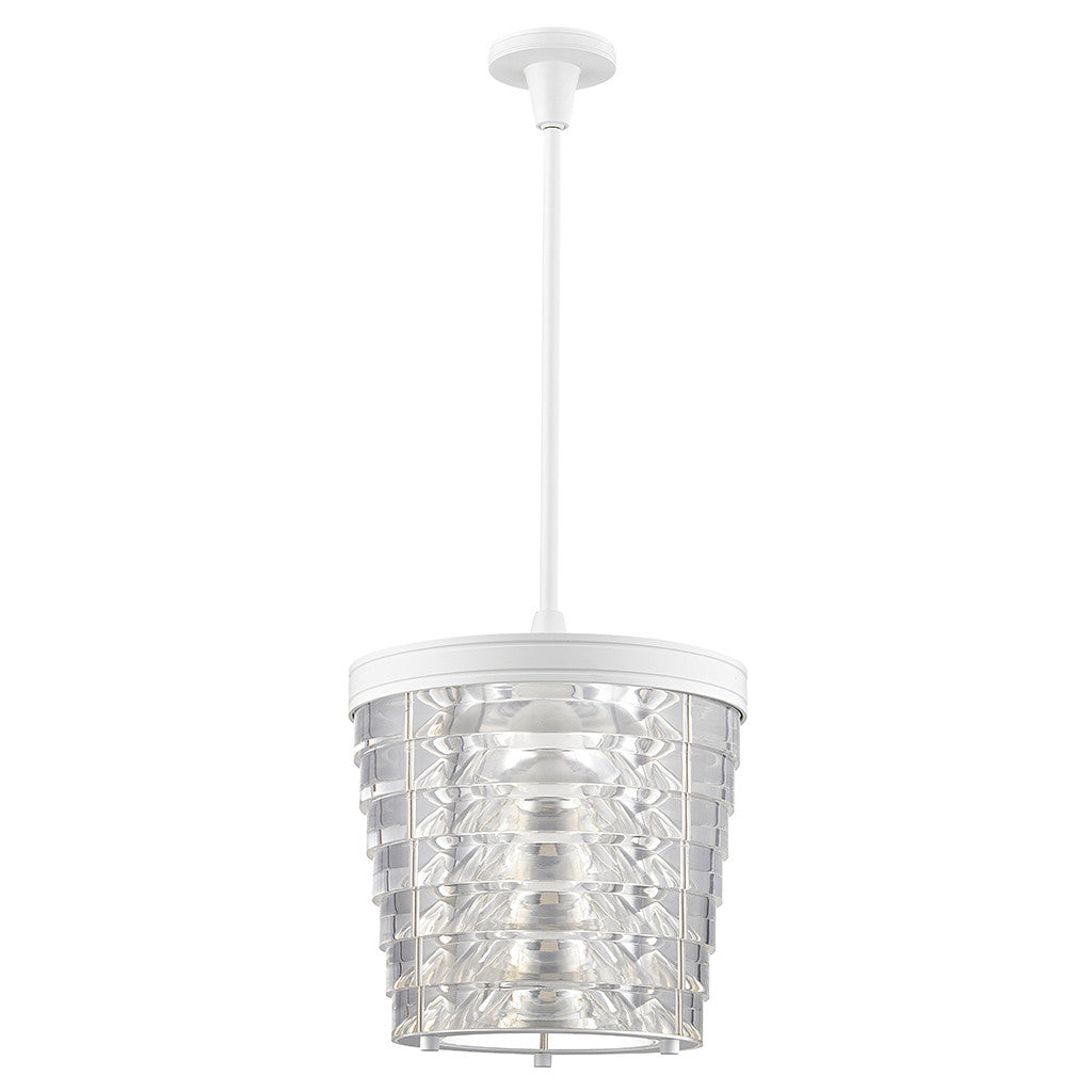 Signal Ceiling Mounted Large Pendant with Acrylic Shade
