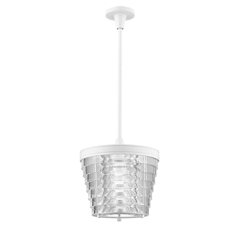 Signal Ceiling Mounted Small Pendant with Acrylic Shade