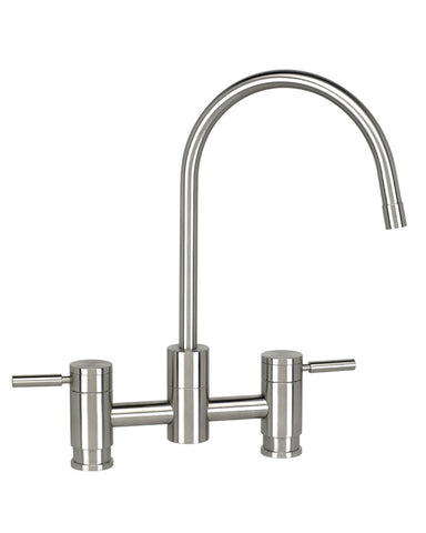 PARCHE BRIDGE FAUCET - C SPOUT - LEVER HANDLES CONTEMPORARY