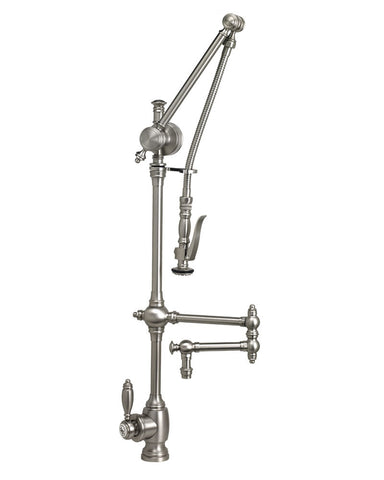 "GANTRY FAUCET - 12"" ARTICULATED SPOUT TRADITIONAL"
