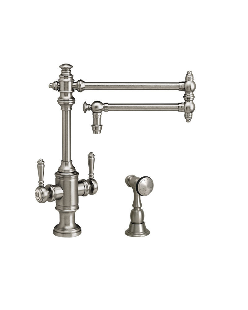 TOWSON TWO HANDLE KITCHEN FAUCET   18