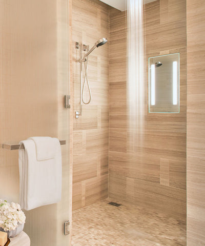shower rendering mirror lighted mirrors free collections em in fog acclaim large montaggio fogless