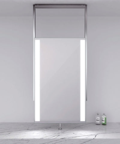 "Element ceiling mounted Lighted Mirror 24""W x 38.50""H"