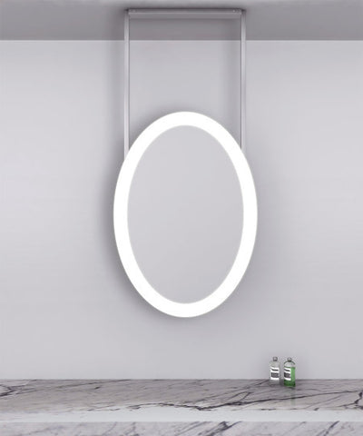 "Elite ceiling mounted Lighted Mirror 27""W x 40""H"
