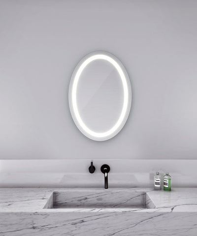 "Eternity Lighted Mirror 30""W x 21""H"