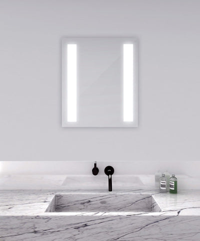 "Fusion Lighting Mirror 42""W x 40"""
