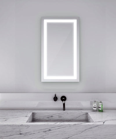 "Integrity Lighted Mirror 18""W x 44"""