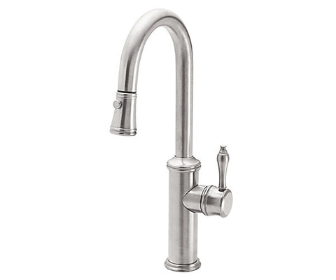 Pull-Down Prep/Bar Faucet with 64 Handle