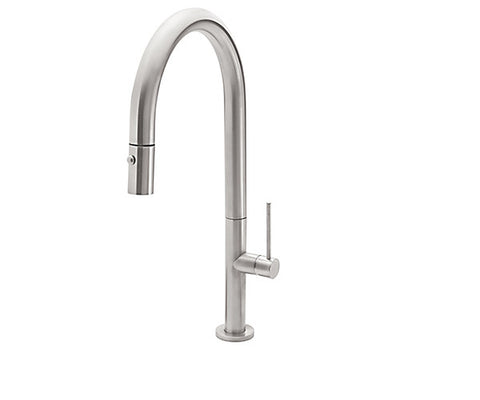 Pull-Down Kitchen Faucet with SST Handle