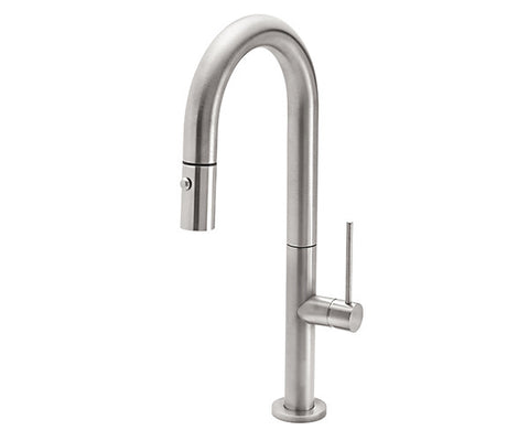 Poetto Pull-Down Prep/Bar Faucet with SST Handle