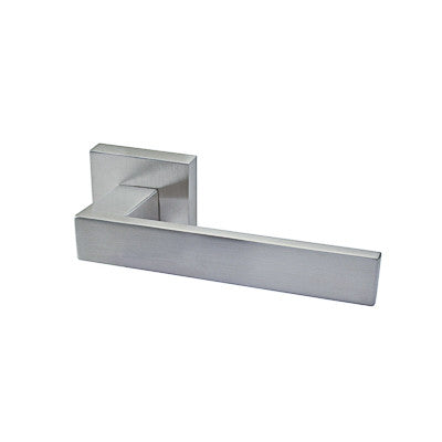Lever 100 Passage Set Square Rose