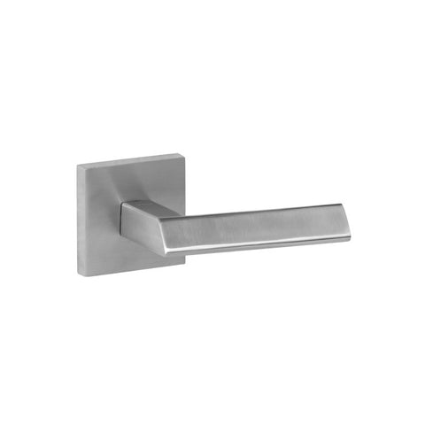 Lever 136 Privacy Set Square Rose