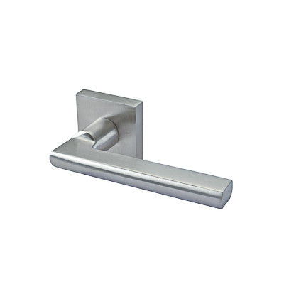 Lever 148 Passage Set Square Rose