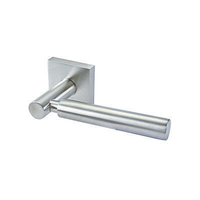 Lever 18 Passage Set Square Rose