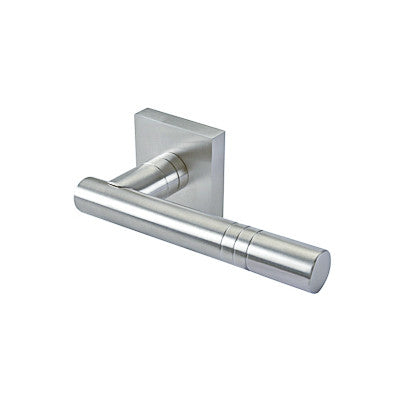 Lever 89 Passage Set Square Rose
