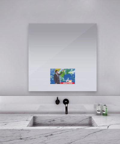 Loft Bathroom Mirror Tv 40W x 40H x 1.75D