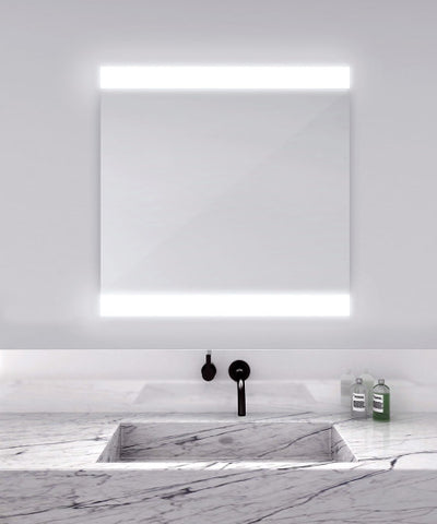 "Novo4 Lighted Mirror 48""W x 36""H"